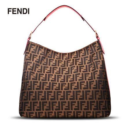 Fendi 双F购物袋#