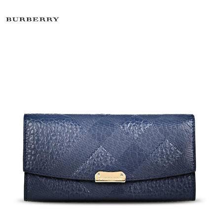 Burberry Porter E 长款钱夹#