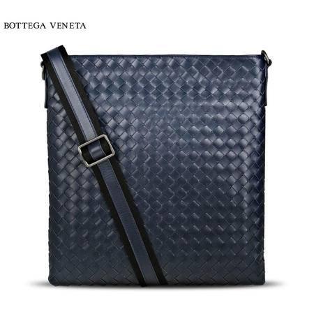 Bottega Veneta 牛皮编织邮差包