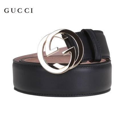 Gucci 互扣式双G带扣 皮带