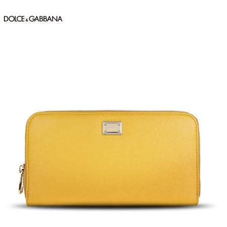 Dolce & Gabbana 牛皮长款拉链钱夹