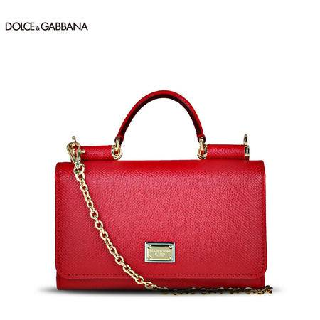 Dolce & Gabbana 牛皮长链手机手拿包