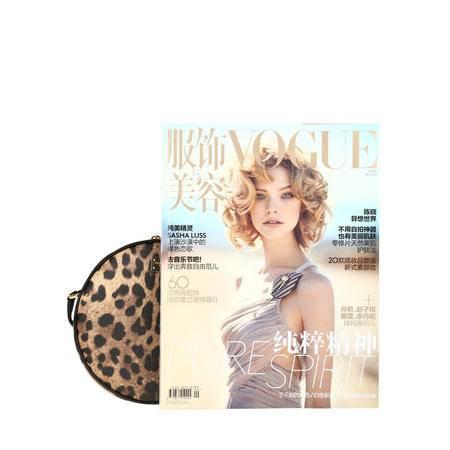 Dolce & Gabbana 经典豹纹圆形斜挎包