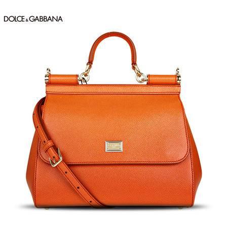Dolce & Gabbana SICILY 中号牛皮手拎包