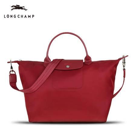 Longchamp 厚款尼龙包短柄 1515