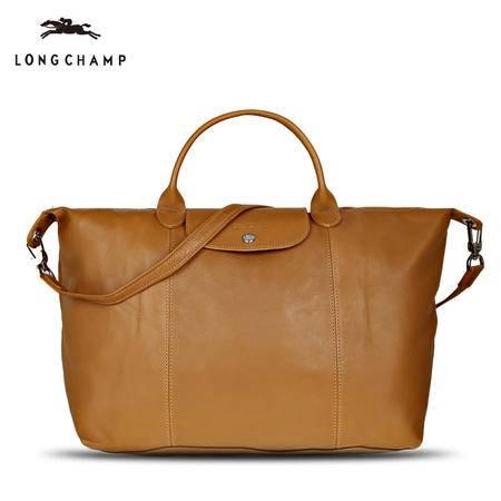 Longchamp 小羊皮折叠短柄 1630