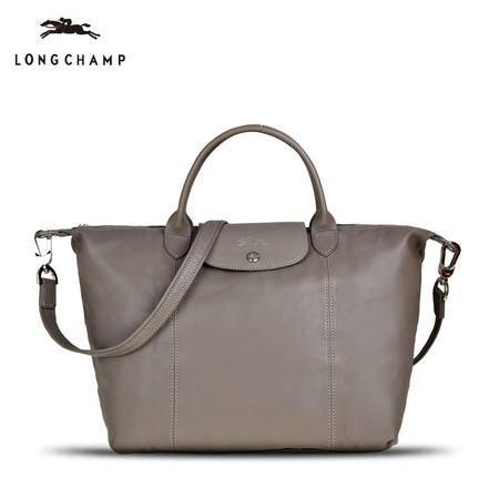 Longchamp 小羊皮折叠短柄 1515
