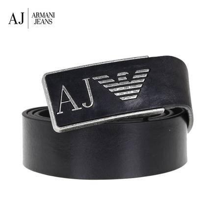Armani.J 金属板扣皮带