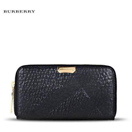 Burberry Elmore 长款拉链钱夹 E