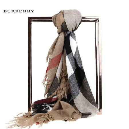 Burberry Clolour CK 羊毛围巾