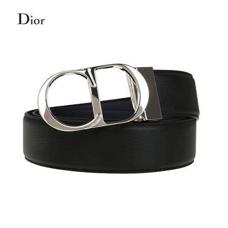 Dior Homme 小牛皮CD LOGO皮带
