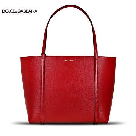 Dolce & Gabbana 女款牛皮购物袋单肩包 BB6022