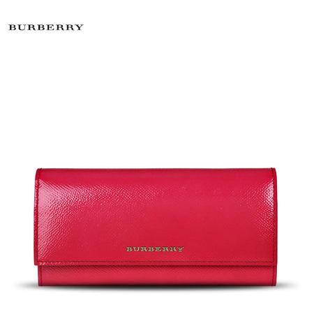 Burberry Porter 长款翻盖钱夹 N