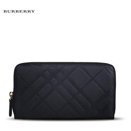 Burberry Renfrew 长款拉链钱夹 E