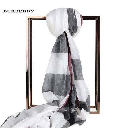 Burberry SHEER MEG CHK 围巾