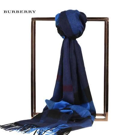 Burberry HF MEG CK 羊绒围巾