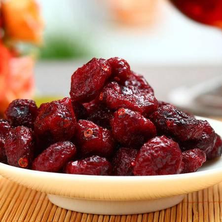 【臻味集】新品北美蔓越莓干180g 美国原料莓干 休闲零食特产