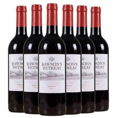 东唐酒歌 澳洲原装进口红酒 奔富洛神山庄梅洛干红葡萄酒750ml 6支 包邮