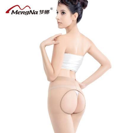 【4双装】梦娜春夏包芯丝双面雕空连裤袜性感免脱丝袜 防勾丝