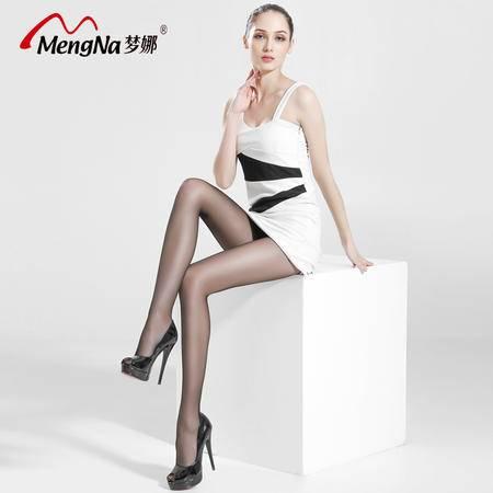 [4双装】梦娜12D超薄防脱T档连裤袜丝袜防勾丝包芯丝性感美腿丝袜子