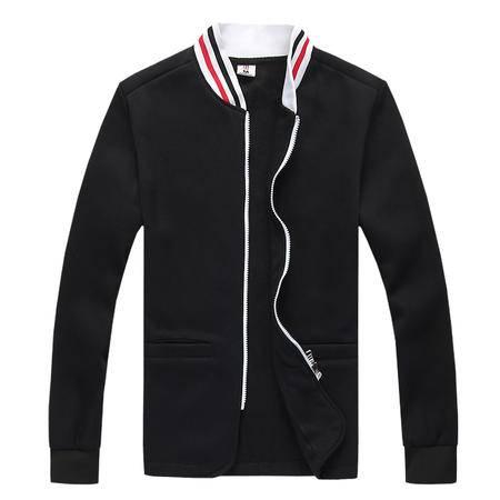 秋装新款棒球服外套男装时尚潮流款 男士休闲立领拉链夹克卫衣开衫薄款修身外套潮