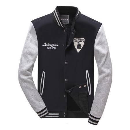 秋装新款棒球服外套男装时尚潮流款 男士休闲立领单排扣夹克卫衣开衫薄款修身外套潮