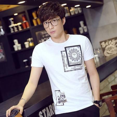 夏季新款男士休闲时尚T恤LG1689