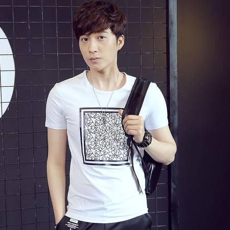 夏季新款男士休闲时尚T恤LG1656