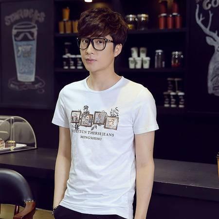 夏季新款男士休闲时尚T恤LG1683