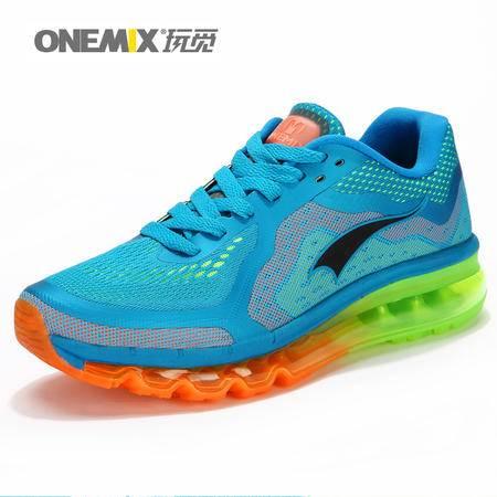 ONEMIX玩觅春秋运动鞋AIR MAX90女鞋情侣款跑步鞋全掌气垫鞋旅游鞋男鞋休闲鞋
