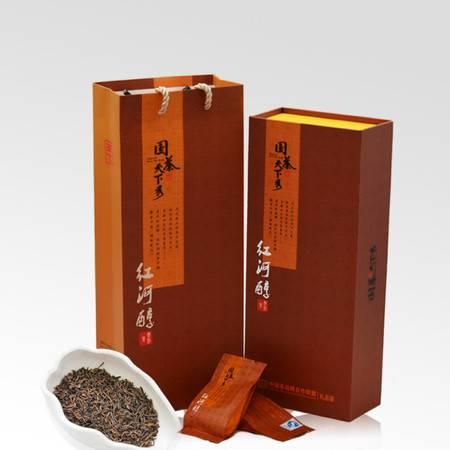 国茶天下秀 红河醇普洱茶 熟茶特级黑茶叶 礼盒包邮119g