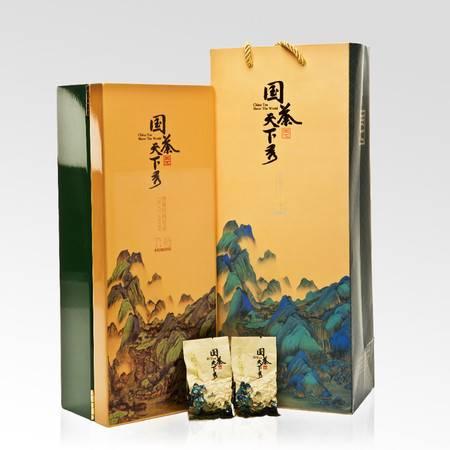 国茶天下秀 六韬清香型贡品铁观音高端茶叶 礼盒 乌龙茶180g