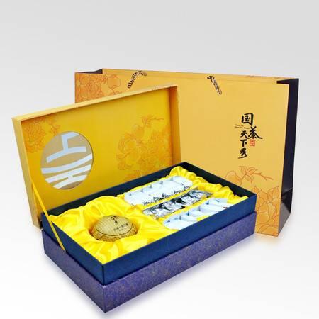 国茶天下秀 四韵金秋四大名茶组合装 茶叶 礼盒219.4g