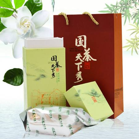 国茶天下秀 茉莉龙珠花茶礼盒 茉莉花茶 茶叶100g包邮