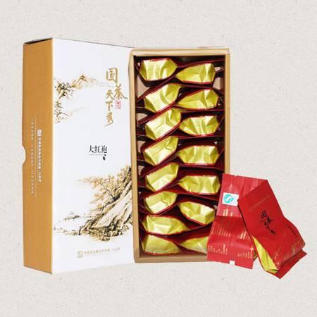 国茶天下秀 武夷岩茶大红袍 茶叶礼盒117g