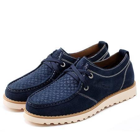 木林森 三创商城 夏季新款男鞋2014热销款时尚休闲板鞋低帮鞋男鞋子240046