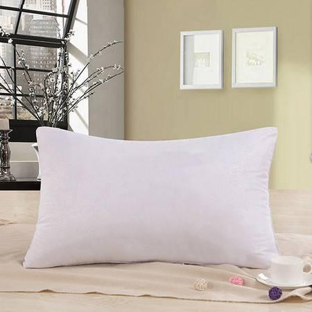 逸轩家纺 枕头 舒适纤维枕芯一个