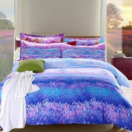逸轩家纺 超柔暖绒磨毛保暖四件套1.5米/1.8米床通用 被套200*230CM
