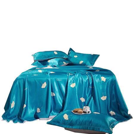 【邮】逸轩 大提花冰丝凉席可折叠空调席子三件套