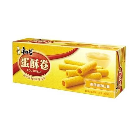康师傅蛋酥卷 香浓奶油味 纸盒装108g
