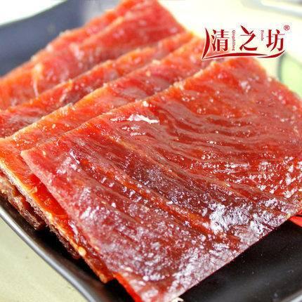 靖江特产小吃清之坊经典风味美味零食猪肉脯200g