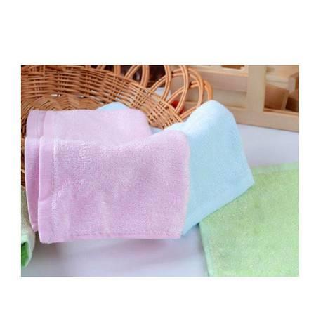 清悦 charmyee 生态竹纺 竹纤维毛巾 小方巾 26*28cm