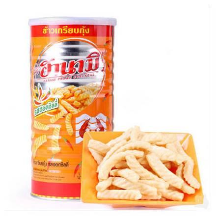 泰国进口零食品膨化食品 卡乐美虾条2罐共220g