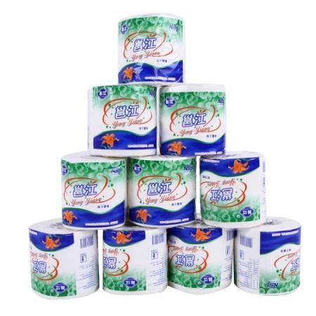 邕江卷筒纸100%原生植物浆卫生纸 双层128g 10卷/提