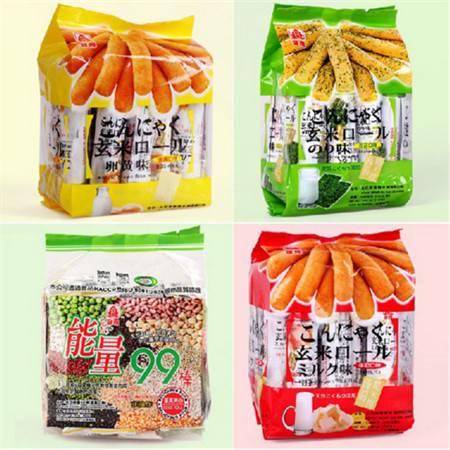 台湾特产 北田 99能量棒 能量99棒/糙米卷 7种口味可选