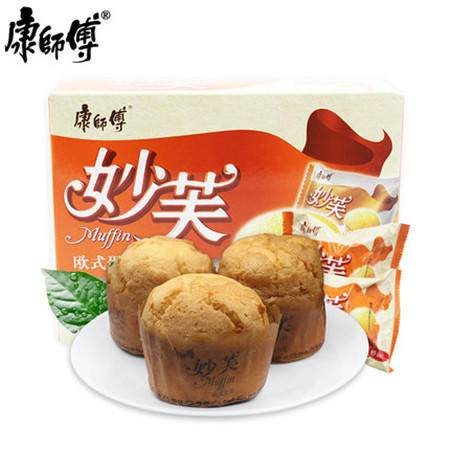 康师傅点心面包零食品大礼包3+2苏打夹心饼干*4、妙芙欧式蛋糕点*4、蛋酥卷鸡蛋卷*4(1700g)