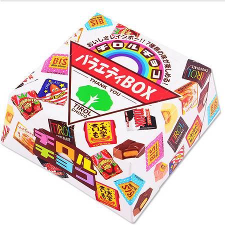 日本松尾多彩巧克力礼盒160g(什锦味)含27枚