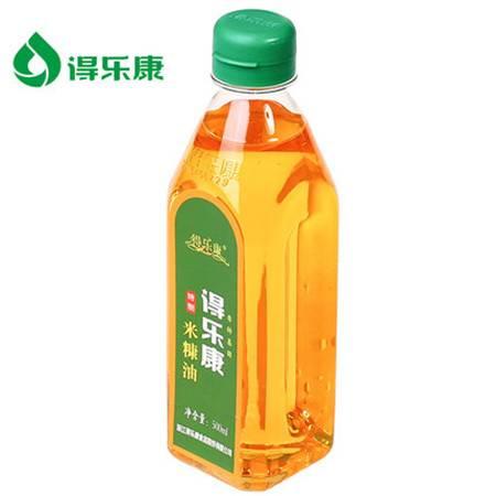 得乐康500ML特制米糠油稻米油植物油烹饪炒菜粮油食用油