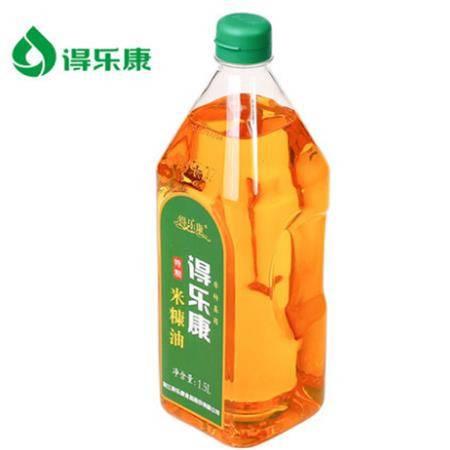 得乐康1.5L特制米糠油稻米油植物油烹饪炒菜粮油食用油