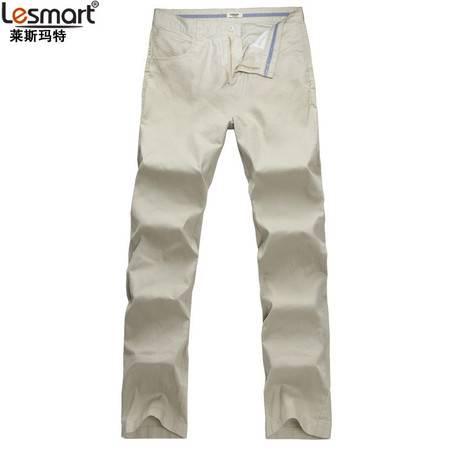 lesmart 莱斯玛特 男装 精品裤装 新款直通舒适休闲裤子 男式长裤MDMK1206
